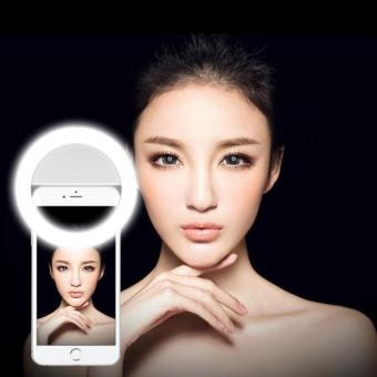 Ringlight Selfie Lampu Selfie LED Flash Photography Ring Light Portable