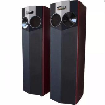 roadmaster speaker aktif standing floor bluetooth monster-210 -hitam