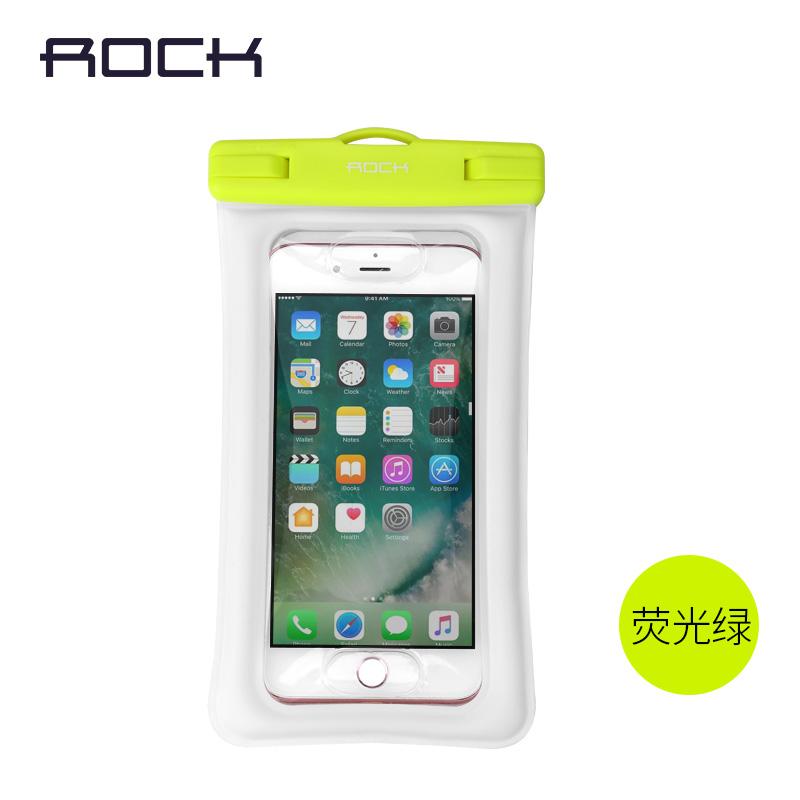 Rock handphone tas tahan air menyelam menetapkan layar sentuh Apple ID lucu kantong