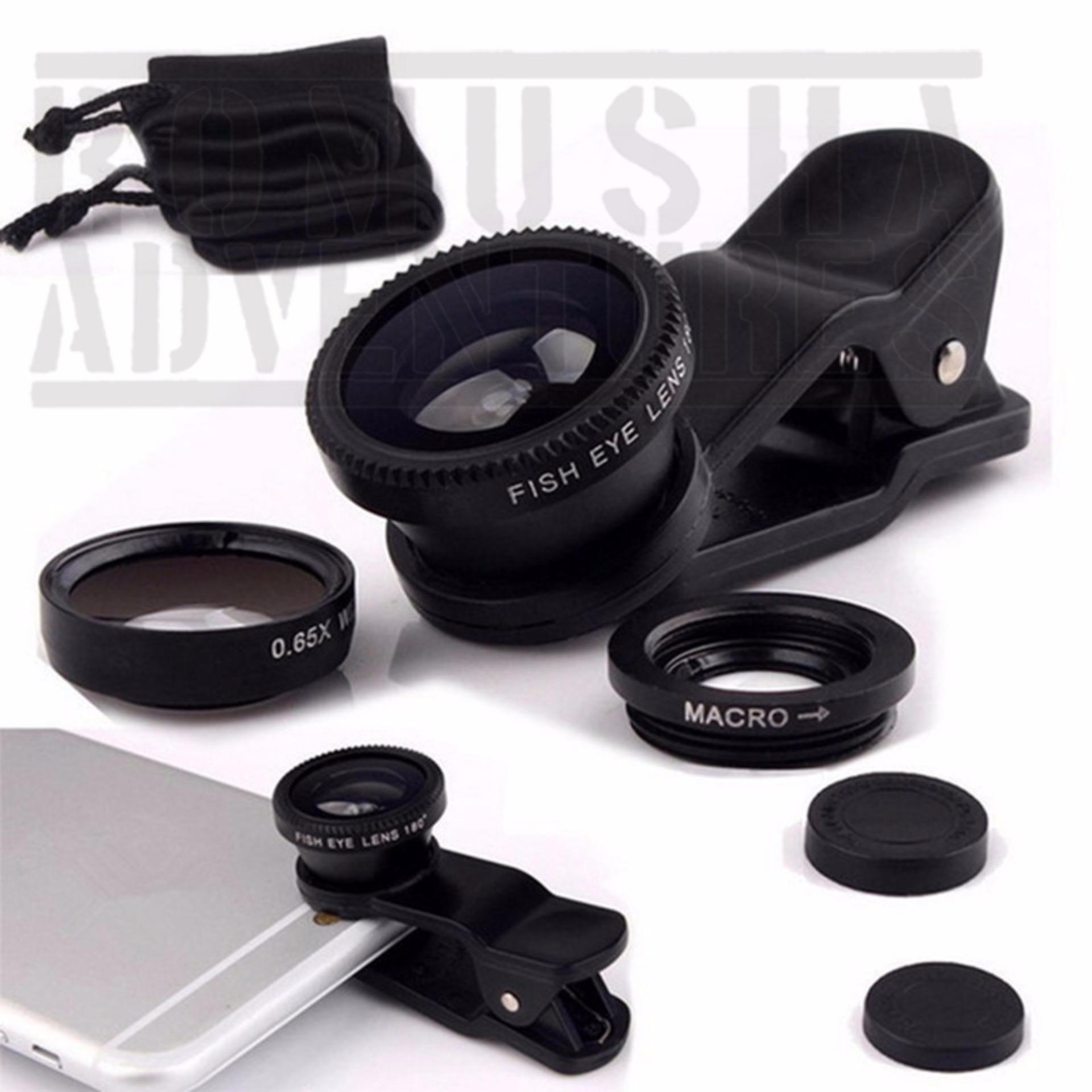 Romusha Lensa Super Wide 04x Selfie Camera For Smartphone Hp Spec Newtech Eagle Eye Fish