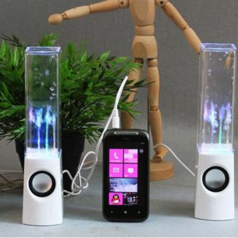 Mini LED Dancing Water Music Source · Mini Led Dancing Water Music Fountain Light Speakers For Source RS Laptop Computer Colourful LED Lights