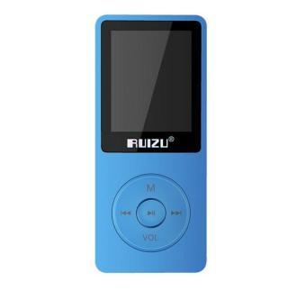 harga RuiZu X02 TFT layar Hi Fi 8 GB musik olahraga MP3 Player FM dengan perekam suara 1.8 inci - Internasional Lazada.co.id