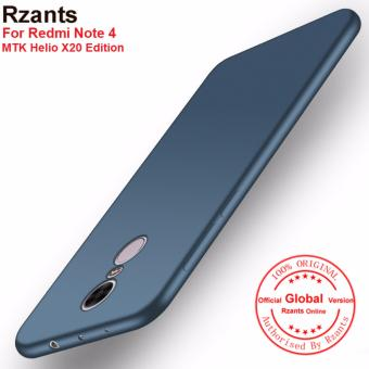 Rzants For Xiaomi Redmi Note 4 Ultra-thin Soft Back Case Cover -intl
