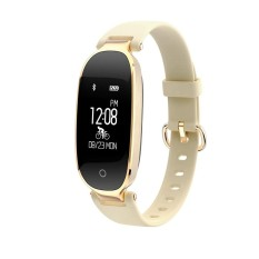 S3 Smart Bracelet Dinamis Heart Rate Monitor Kebugaran Tracker-Golden-Intl