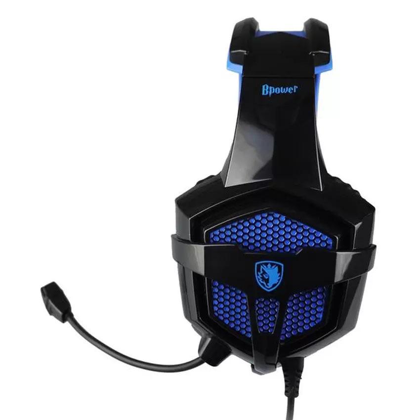 Sades B-Power SA-739 Headset Gaming Surround Sound - Hitam .