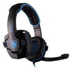 Sades SA-901 Wolfang Headset Gaming - Biru