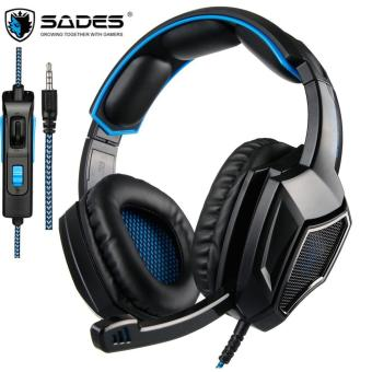 SADES SA920 Plus PC Gaming Headset Bass Computer gaming headphones with Microphone for PS4 Phone Laptop