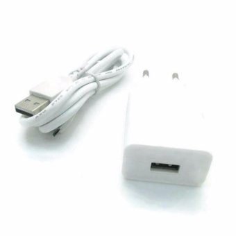 Safe Charger USB for OPPO A37 - Putih