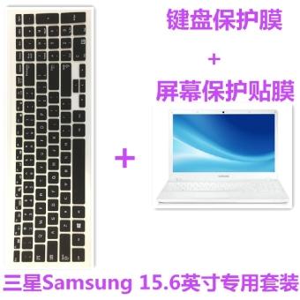 Samsung 270e5k-x0d layar laptop stiker keyboard film pelindung