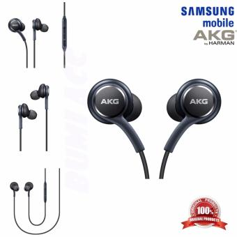 Samsung Earphones/Handsfree Galaxy S8 Tuned By AKG EO-IG955 - ORIGINAL 100% - Hitam
