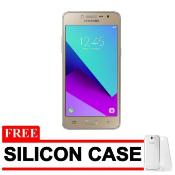 Samsung Galaxy J2 Prime - Gold [8GB] + Free Silicon Case