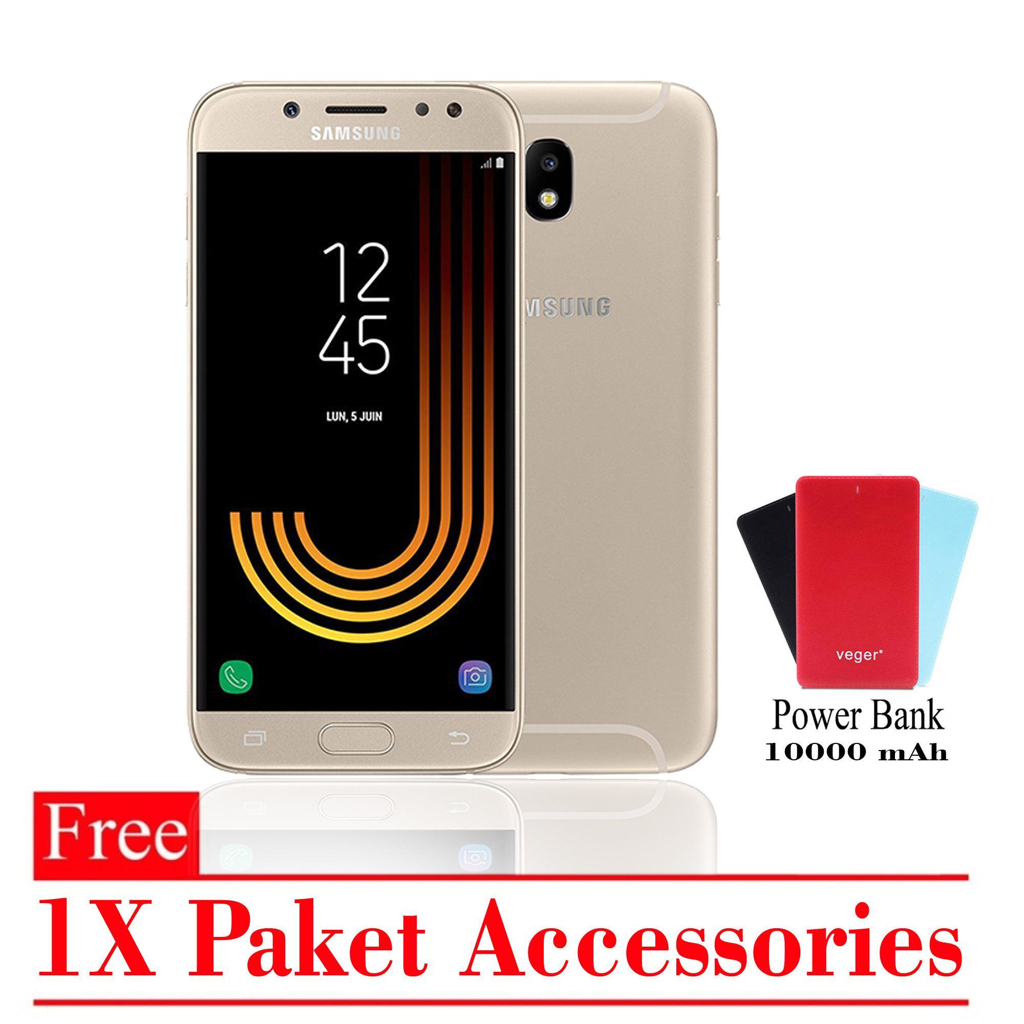Samsung Galaxy J5 Pro Ram 3GB 32GB Free 1x Paket Accessories Smartphone