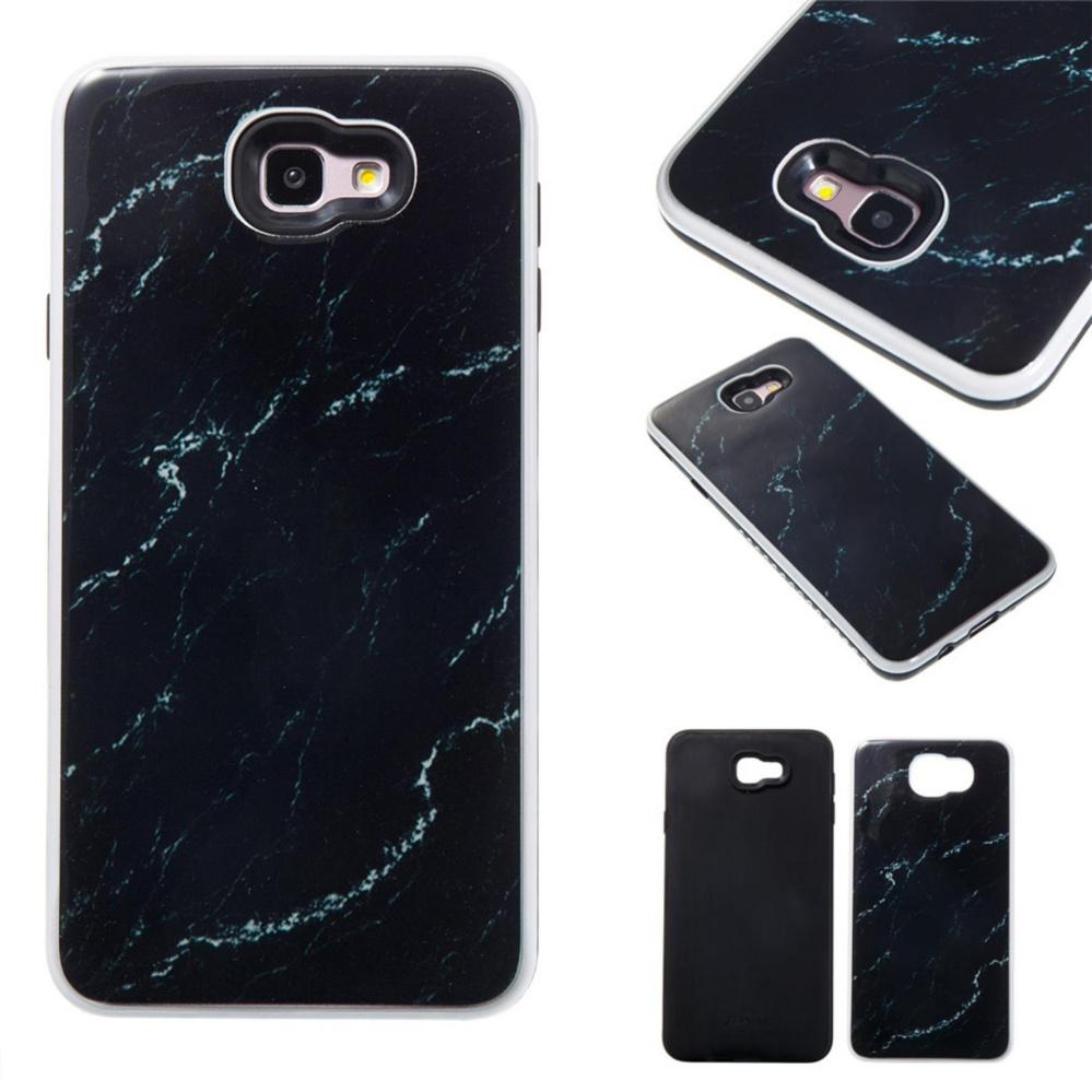 ... Samsung Galaxy J7 Prime Case, Stone Pattern Hybrid 2 In 1 [PC &Silicone] ...
