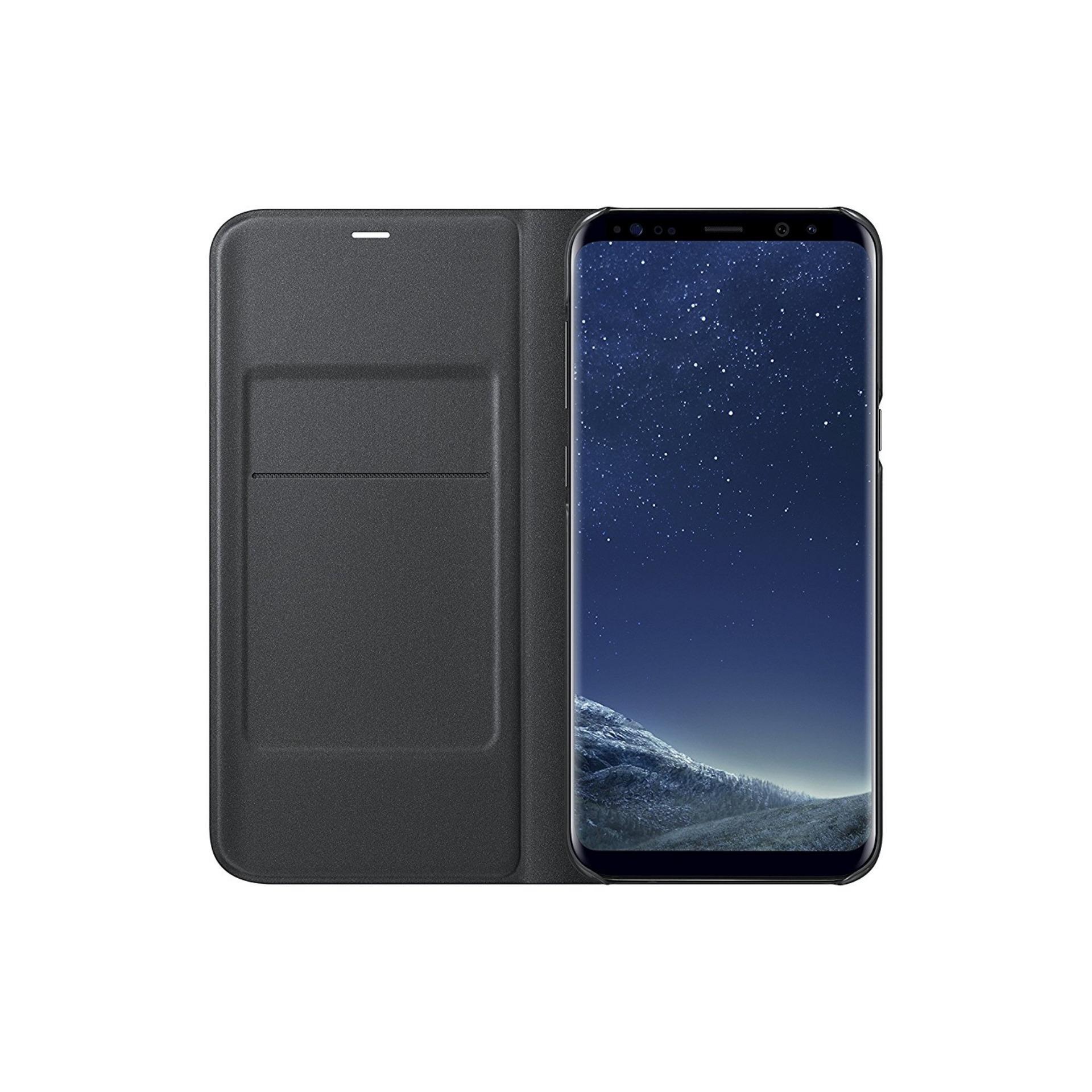 Samsung Galaxy S8 Plus Led view - Black (ORIGINAL) ...