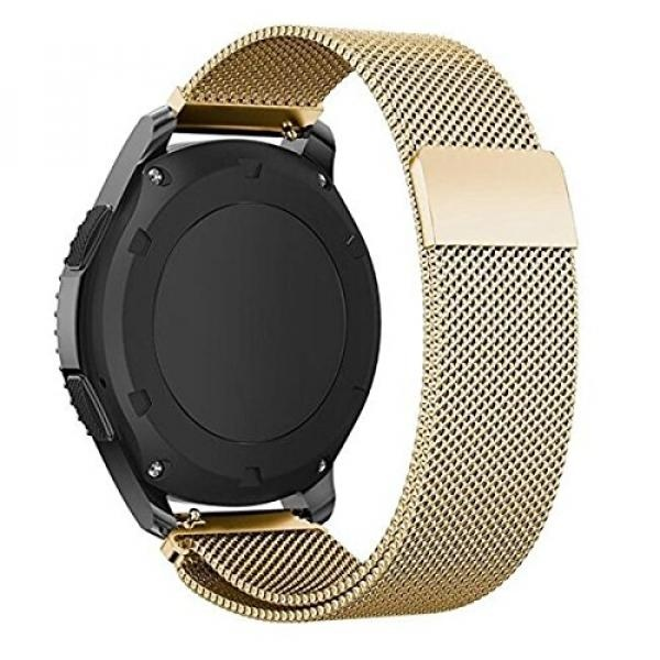 Samsung Gear S3 Classic/ Frontier Band SUNDA Metal Magnetic Milanese Smart Watch Replacement Band Strap