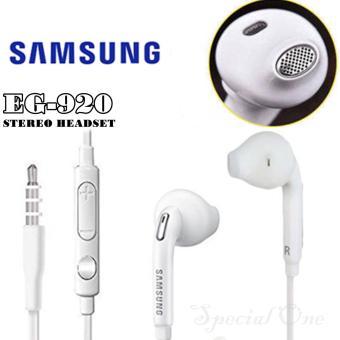 Samsung Headset EG-920 Competible : Galaxy S7 S6 Note5 White - Original