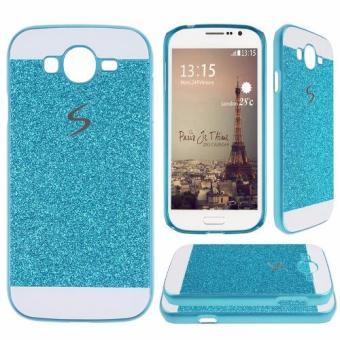 Samsung J1 ACE J110 Case Glitter Blink-Blink Hardcase BackcaseCasing hp-Sky Blue