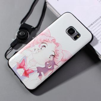 Samsung s7/s7 silikon cincin lanyard bracket shell shell telepon