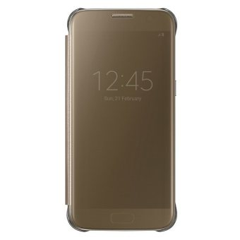 Samsung View Clear Case Galaxy S7 Flat - Gold