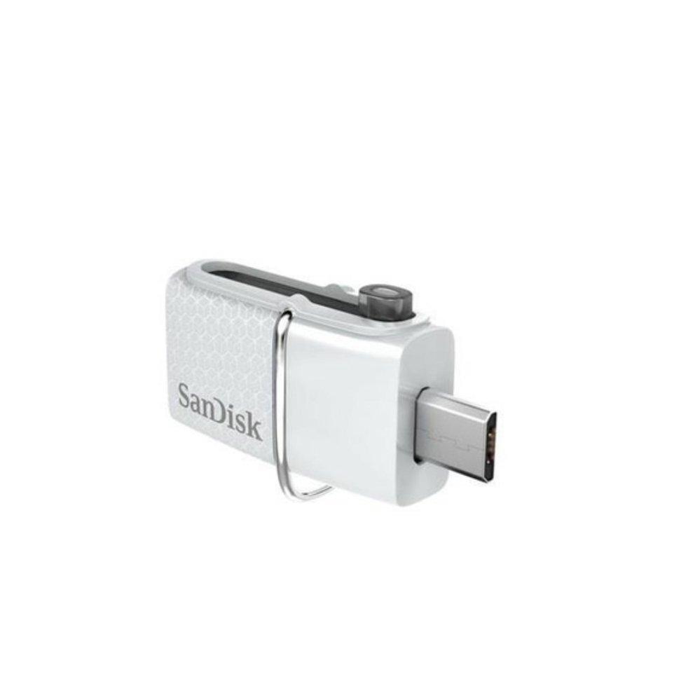 Online Murah Sandisk Ultra Dual Usb Drive 30 32gb Flashdisk Otg Sddd2 128gb White