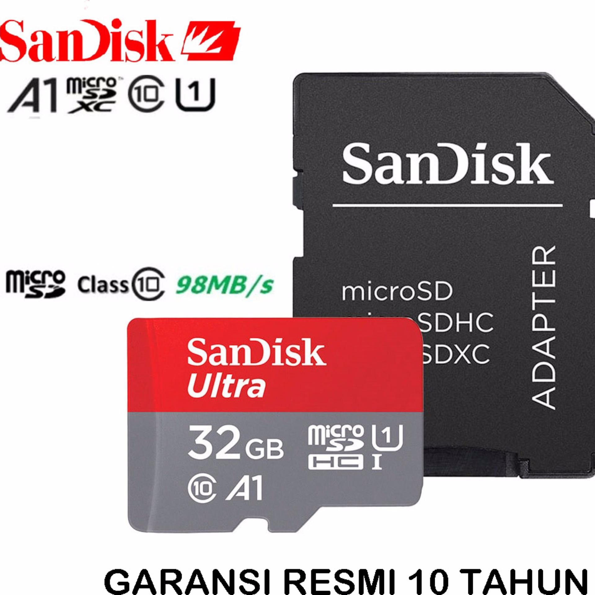 Gratis Tongsis Mini Kabel + Fisheye / Selfie Cam & Iring Stand HPIDR74900. Rp 74.900. Source · SanDisk Ultra MicroSDHC 98MB/s 32GB Class 10 UHS-1 With .