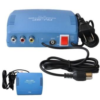 SB-168AV RF Modulator AV-RF AV-TV Converter RCA Ant Input To