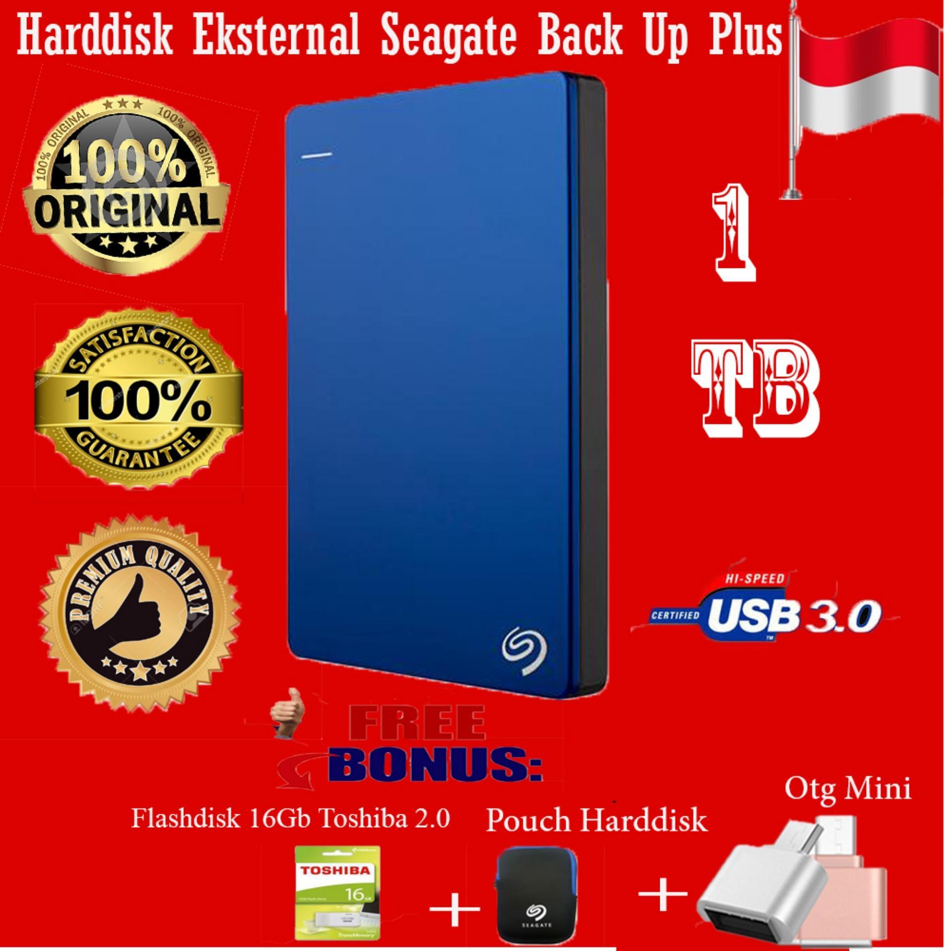 Harga Termurah Seagate Backup Plus Slim 1tb Hdd Hd Hardisk Pouch Harddisk External 25 Biru