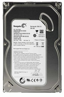 Seagate Harddisk Internal 500 GB Sata