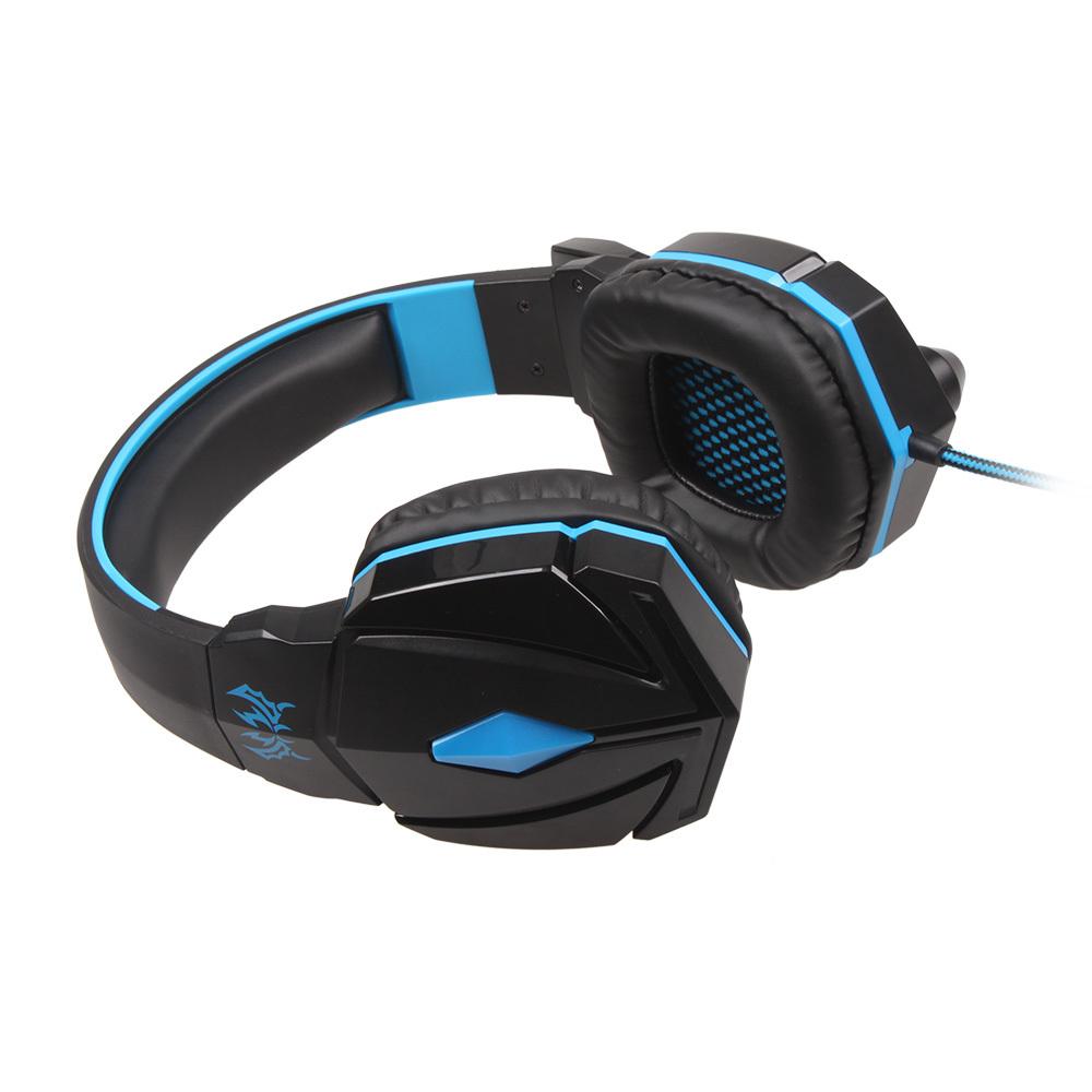 Setiap Profesional 3.5 mm Stereo Headset Gaming PC Laptop Canelling Suara Dengan Mikrofon Telepon Kepala Pengemudi ...