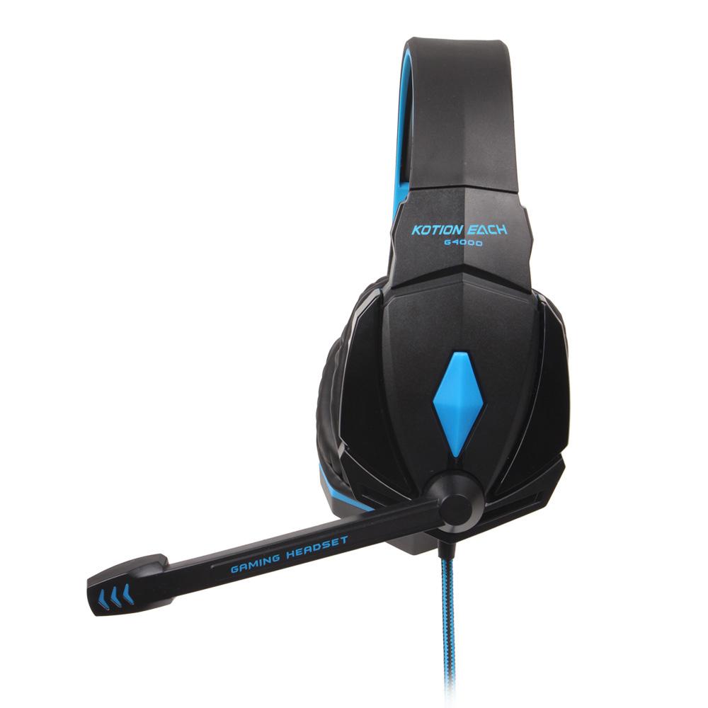 ... Setiap Profesional 3.5 mm Stereo Headset Gaming PC Laptop Canelling Suara Dengan Mikrofon Telepon Kepala Pengemudi ...