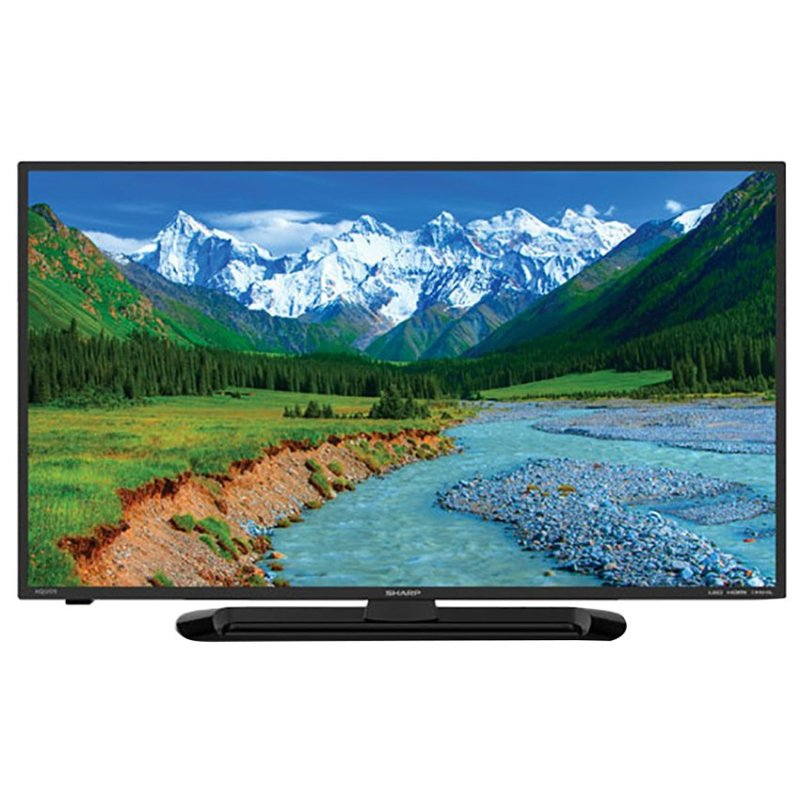 Sharp 32 inch LED HD TV - Hitam (Model LC-32LE265i)