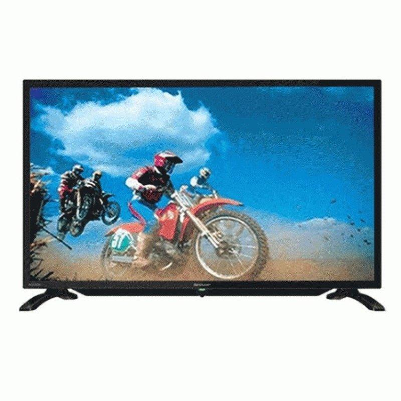 Sharp 32 inch LED TV LC - 32LE180I - Hitam - Khusus Jadetabek