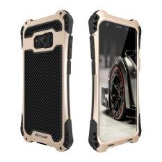 SHUNJIA Shockproof TPU+ Metal Aluminum Dustproof Rainproof Case forSamsung Galaxy S8 Plus / S8+ (6.2