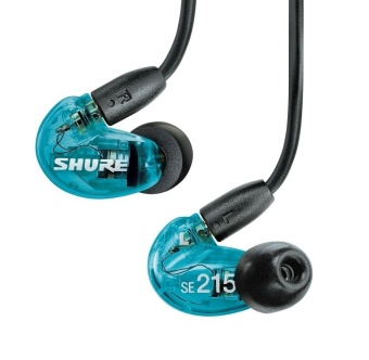 Shure SE215 Sound Isolating Dynamic MicroDriver Earphones Special Edition (Blue) - intl