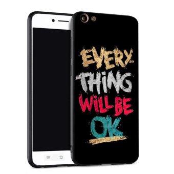 Silica Gel Soft Phone Case for VIVO Y55 (Multicolor)