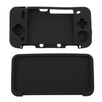 Silicone Cover for New Nintendo 2DS XL /2DS LL Game Console(Black) - intl