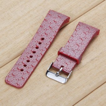 ... Foto Produk Silicone Watch Band Strap For Samsung Galaxy Gear S2 SM R720 Red intl Selengkapnya
