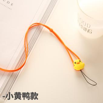 Silikon lembut tali halter telepon shell tali tali ponsel lanyard