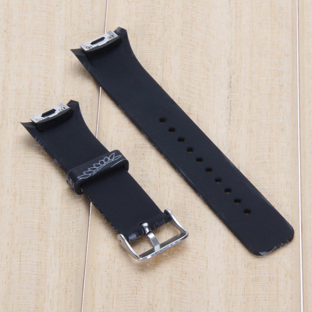 ... Silikon Tali Jam Untuk Samsung Galaxy Gear S2 Sm r720 Hitam
