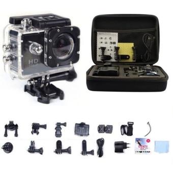 "SJ6000 2.0"" WIFI 1080P 10x HD Sports Action Camera Car DVR Video Waterproof camera Black - intl"