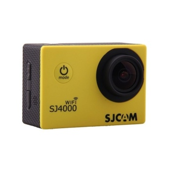 SJCAM Original SJ4000 WiFi Version Full HD 1080P 12MP Action Camera 30m Waterproof Sports DV Yellow - intl