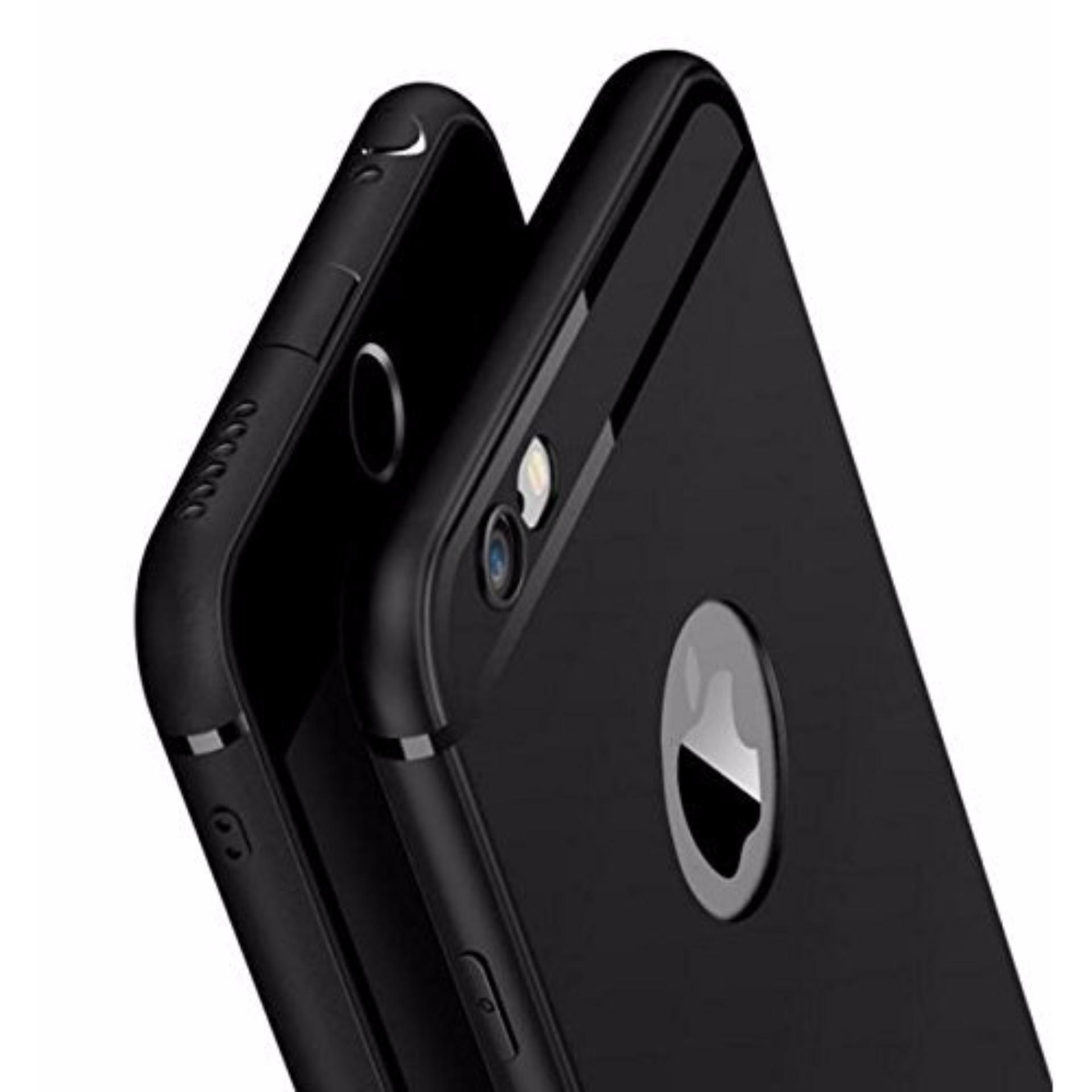 ... Slim Silicone Iphone 6/6s Anti Dust Casing Softcase TPU Case Karet- HITAM ...