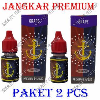... Belanja murah Smart Jangkar E Liquid Premium Rokok Elektrik Grape 2 Pcs Belanja murah