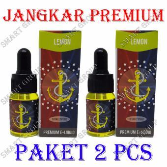 Smart Jangkar E-Liquid Premium Rokok Elektrik - Lemon 2 Pcs