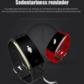 SMART S2 Smart Watch Bracelet Heart Rate Monitor Bluetooth TrackerFor Android iOS - intl