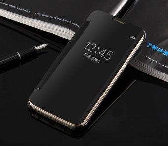 Smart Sleep Leather Menutupi Belakang Case untuk Xiaomi Mi Note 2 (Hitam )-Intl