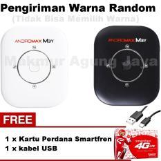 Smartfren Andromax M3Y Mifi / Modem Wifi 4GLite - Warna Random + Free Kabel USB + Kartu Perdana Smartfren