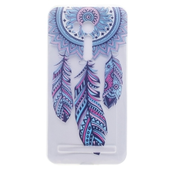 Soft Silicon Slim Back Cover Case for Asus ZenFone Go ZB551KL 5.5inch - Dream Catcher - intl