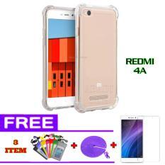 SoftCase Anti Crack for Xiaomi Redmi 4A + FREE Tempered Glass + K abel Data Tali