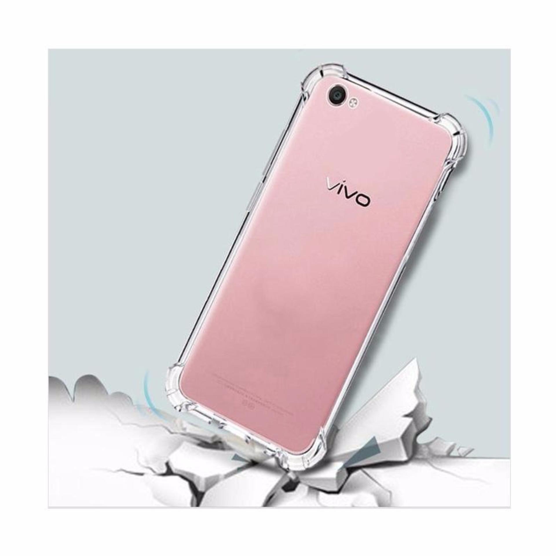 Bandingkan Toko Softcase Anti Jamur Crack Vivo Y53 Air Case 03 Tali Sepatu Silicon Silikon 03mm Silicone Soft